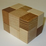Block or Cube - Wooden Puzzle Brain Teaser