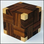 Explosion Cube (2007) - Wooden Puzzle Brain Teaser