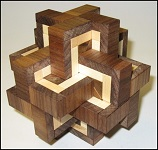 Viper Cross - Wooden Puzzle Brain Teaser