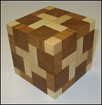 Explosion Cube 2 - Wooden Puzzle Brain Teaser