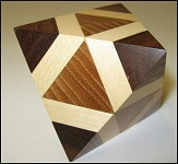Octahedron Box - Wooden Puzzle Brain Teaser
