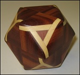 Truncocta Oval 8 - Wooden Puzzle Brain Teaser