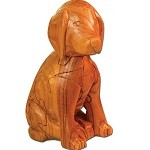 Dog 3D Jigsaw Wooden Puzzle Brain Teaser