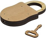 Lock and Key - IQ Locker Series Wooden Puzzle