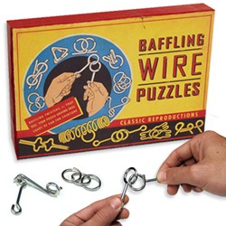 Buffeling Wire - 12 Metal Puzzles Gift Set