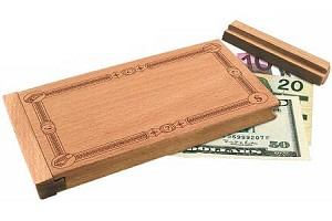 Don't Count On It - Tricky Wooden Money Puzzle Box