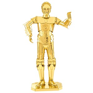 Star Wars Gold C-3PO - Metal Earth 3D Model Puzzle
