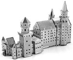Neuschwanstein Castle - Metal Earth 3D Model Puzzle