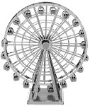 Ferris Wheel - Metal Earth 3D Model Puzzle