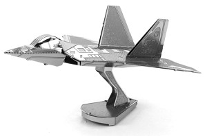 F-22 Raptor - Metal Earth 3D Model Puzzle