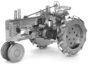 Farm Tractor - Metal Earth 3D Model Puzzle