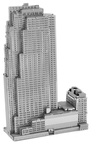 30 Rockefeller Plaza - Metal Earth 3D Model Puzzle