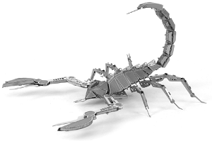 Scorpion - Metal Earth 3D Model Puzzle