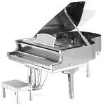 Grand Piano - Metal Earth 3D Model