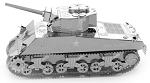 Sherman Tank - Metal Earth 3D Model Puzzle