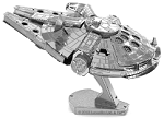Millennium Falcon Star Wars - Metal Earth 3D Model Puzzle