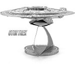 USS Enterprise NCC 1701-D Star Trek - Metal Earth 3D Model Puzzle