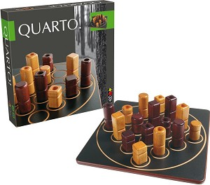 Quarto - Wooden Strategy Game by Gigamic