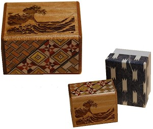 2 Sun 10 Steps Namiura - Limited Edition Japanese Puzzle Box