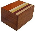 3 Sun 12 Steps Natural Wood - Japanese Puzzle Box