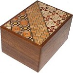 3 Sun 12 Steps Koyosegi & Natural Wood - Japanese Puzzle Box