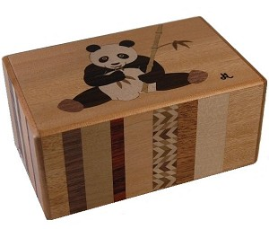 5 Sun 27 Steps Panda - Japanese Puzzle Box