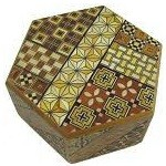Hexagon 6 Steps Japanese Puzzle Box