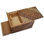 4 Sun 4 Compartment 20 Steps - Japanese Puzzle Box