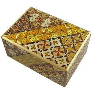 4 Sun 14 Steps Japanese Puzzle Box