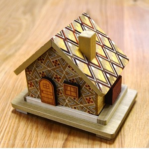 House 7 Steps - Japanese Puzzle Box