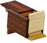 Mame 14 Steps Natural Wood - Japanese Puzzle Box