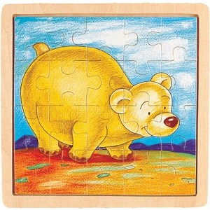 Bear - Jigsaw 21pc Wooden Puzzle