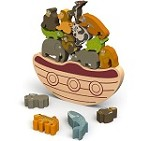 Balance Boat - Endangered Animals Game and Playset