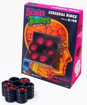 Cerebral Rings  - Brain Teaser Puzzle
