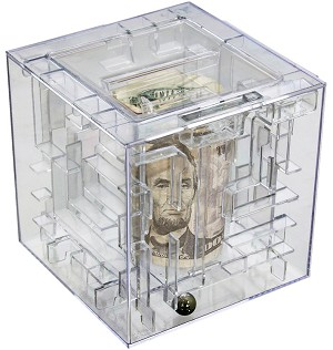 Money Maze Puzzle - Money Puzzles Brainteaser