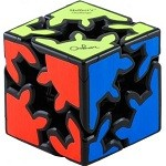 Gear Shift Cube - Meffert's Rotation Brain Teaser Puzzle