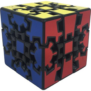Gear Cube Extreme Black - Meffert's Rotation Brain Teaser Puzzle
