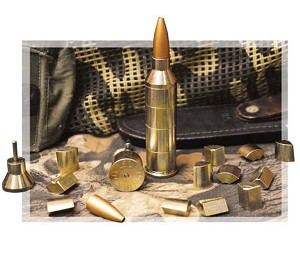 Magnetic 3d Bullet Desktop Puzzle - .50 Cal plated steel