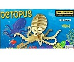 Octopus - 3D Jigsaw Woodcraft Kit Wooden Puzzle