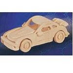 Car Porsche-911 SM 3D Jigsaw Woodcraft Kit - Wooden Puzzle