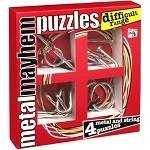 Advanced Range Set - 4 Disentanglement Metal Puzzles