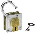 Houdini Lockout and Key - Metal Trick Lock Puzzle
