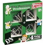 Kids Range Set - 4 Disentanglement Metal Puzzles