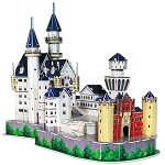 Neuschwanstein Castle 3D Jigsaw Puzzle 98 Pieces