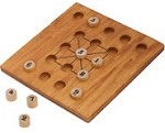 Magic Square Number Challenge - Wooden Puzzle Math Brain Teaser