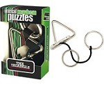Triangle - Metal puzzle Disentanglement Brain Teaser