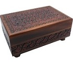 Artistic Carved (Large) - Secret Wooden Puzzle Box