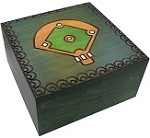 Baseball Field - Secret Wooden Puzzle Box
