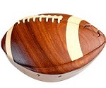 Football - Secret Wooden Puzzle Box