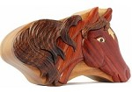 Horse Secret Box - Wooden Puzzle
